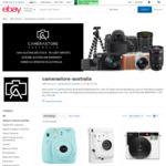 Fuji Instax Mini 9 Creative Kit (Flamingo Pink, Ice Blue, Smokey White) $95.20 Delivered (RRP $129) @ Camera Store eBay