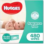 3 Packs of 480pc Huggies Wipes for $43.20 Delivered @ Amazon AU