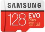 Samsung EVO Plus 128GB microSD Memory Card - $33 @ Harvey Norman