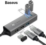 Baseus USB / Type C 3.0 to 3 USB3.0 + 2 USB2.0 OTG HUB Converter AU$16.98 (Was AU$28) Delivered @ eSkybird
