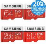 Samsung EVO Plus MicroSD - 64GB $18.32 Delivered @ Tech Mall eBay