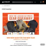 Win a New Year Gear Pack (Shirt/Pants/Footwear/Backpack/Socks) Worth $845 from LEGEAR