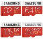 Samsung EVO Plus 32GB Micro SD Card $4.95 Delivered @ Memory Zone eBay