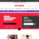 Cotton On: 20% off Full Price Items & Free Express Ship (Orders $40+).