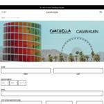 Win a Trip for 2 to California, USA (Coachella) Worth $10,000 from Calvin Klein