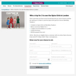 Win a Trip to the Spice Girls Concert in London for 2 Worth $18,530 from Optus [Optus Customers]