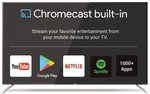 "75"" Soniq Ultra HD Google Chromecast TV 100hz $1299 (Local Pickup Available VIC) @ SONIQ"