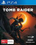 [PS4] Shadow of The Tomb Raider $15 + Delivery (Free with Prime/ $49 Spend) @ Amazon AU