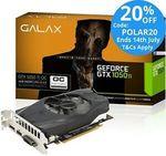 Galax Nvidia GeForce GTX 1050 Ti OC 4GB GDDR5 $167.20 Delivered @ Tech Mall eBay