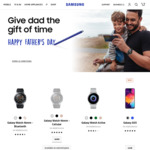 Samsung Galaxy Watch 46mm Bluetooth $429, Galaxy Watch Active $299 Delivered @ Samsung