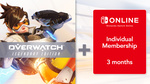 [Switch, Pre Order] Overwatch: Legendary Edition + 3-Month Online Individual Membership for $69.95 & More @ Nintendo eShop