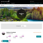 $200 off on Return Flights to New Zealand from Melbourne @ Air New Zealand
