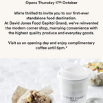 [VIC] Free Coffee 7am to 5pm, 17/10 @ David Jones, (Capitol Grand Building, South Yarra)