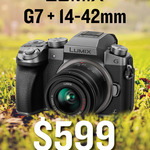 [NSW] Panasonic Lumix G7 + 14-42mm f/3.5-5.6 II Kit Lens for $599 In-Store @ Camera House (Broadway, Top Ryde or Hornsby)
