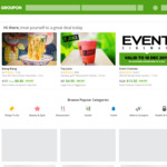 Groupon 20% Cashback @ ShopBack (Stack with 10% off Sitewide 2pm-8pm AEDT)