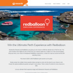 Win a Perth Getaway for 2 Worth $14,000 or 1 of 200 $100/$40 RedBalloon Vouchers from Woolworths [Rewards Members]