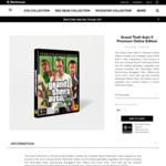 [PC] Grand Theft Auto V: Premium Online Edition $15.82 (Website) $15.45 (Launcher) @ Rockstar