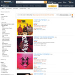 Buy One Get One Free on Select CDs and Vinyl @ Amazon AU