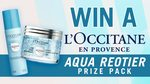 Win 1 of 3 L'Occitane Aqua Reotier Prize Packs Worth $78 from Seven Network