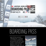 Free Burton Snowboard on JAL Business Class Flights (One Way from $2089) to Tokyo from Melbourne