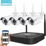 8CH Wireless Security Camera System with 4pcs 1080P Camera $209.25 (Was $279) Delivered @ Genbolt Amazon AU