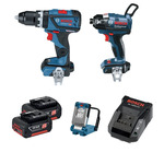 Bosch Blue 18V Brushless 3 Piece 2x 3.0ah Combo Kit $230 @ Bunnings