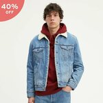 40% off Levi's Sherpa Trucker Jacket with Jacquard by Google $179.95 (Was $299.95) @ Levi's