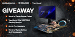 "Win a ViewSonic Elite 27"" Gaming Monitor & SteelSeries Peripherals or Minor Prizes from SteelSeries"