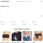 40% off Sitewide (Includes Already Reduced Items) + Delivery (Free Shipping > $100) @ Calvin Klein