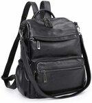 15% off Plambag Faux Leather Anti-Theft Backpack Purse Shoulder Bag (3 Colours Available) $40.79 Delivered @ Plambag Amazon AU