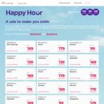 Virgin Australia Happy Hour: Ballina <> SYD $69, SYD <> Hobart $99, ADL <> SYD $115, PER <> SYD $179 and Lots More @ Virgin
