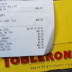[QLD] Toblerone 24pk x 35g $5 @ Silly Solly's