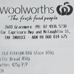 Pork Ribs 650g, 2x Garlic Bread & Corn Cobbettes 425g - $15 @ Woolworths