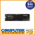 [eBay Plus] Samsung 970 EVO Plus SSDs - 1TB $223.20 ($177.20 after CB) @ Computer Alliance eBay