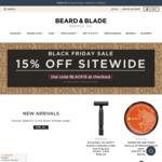15% off Sitewide @ Beard&Blade