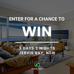 Win a Stay at Jervis Bay for 3 Days/2 Nights from FreeGuides