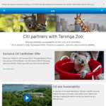 [NSW] 25% off Full Price Taronga Zoo Tickets with Online Payment by Citibank Credit Card