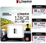 Kingston High Endurance MicroSD Card 32GB $11.95, 128GB $30.95 + $3.95 Shipping @ FlashTrend