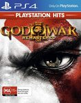[PS4] God of War III Remastered $10 + Delivery ($0 with Prime/ $39 Spend) @ Amazon AU