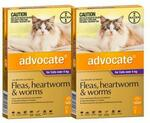 Advocate for Large Cats (over 4kg) 12-Pack $131.51 Delivered ($124.93 with Auto Delivery) @ Budget Pet Products