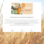Win a $500 Homeware/Clothing/Toy Voucher from Stitch & Straw