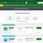 Woolworths Mobile Prepaid $20 Starter Kit for $8, $30 Starter Kit for $12 + $9/$12 Cashback