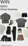 Win a $2500 Winter Wardrobe Giveaway @ I Love Ugly
