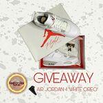 "Win an Air Jordan 4 ""White Oreo"" from Feet on Fire Australia"