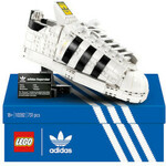 2x LEGO 10282 Icons adidas Superstar US$149.99 (~A$203.20) for Pair Delivered @ Zavvi US