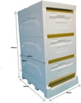 Paradise Honey Hive Kit - 3x Super - $195.00 + Delivery ($0 NSW C&C) @ Hornsby Beekeeping