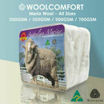 Merino Wool Quilt (Australian Made) from $47.20 ($46.02 with eBay Plus) Delivered @ Linen Dream eBay