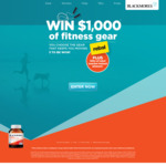 Win $1000 Worth of Fitness Gear from Blackmores