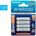 Eneloop Pro Battery AAA/AA 4 Pk $18, Non-Pro $14.25 / 8pk $25.50 + Shipping ($0 with Club/C&C) @ Catch