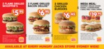 Hungry Jacks Vouchers - 2 Whoppers $5.95, 2 Chicken Burgers $6.45, etc Sydney Only
